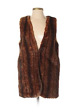 Forever 21 Faux Fur Vest Size S