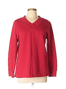 Quacker Factory Sweatshirt Size M