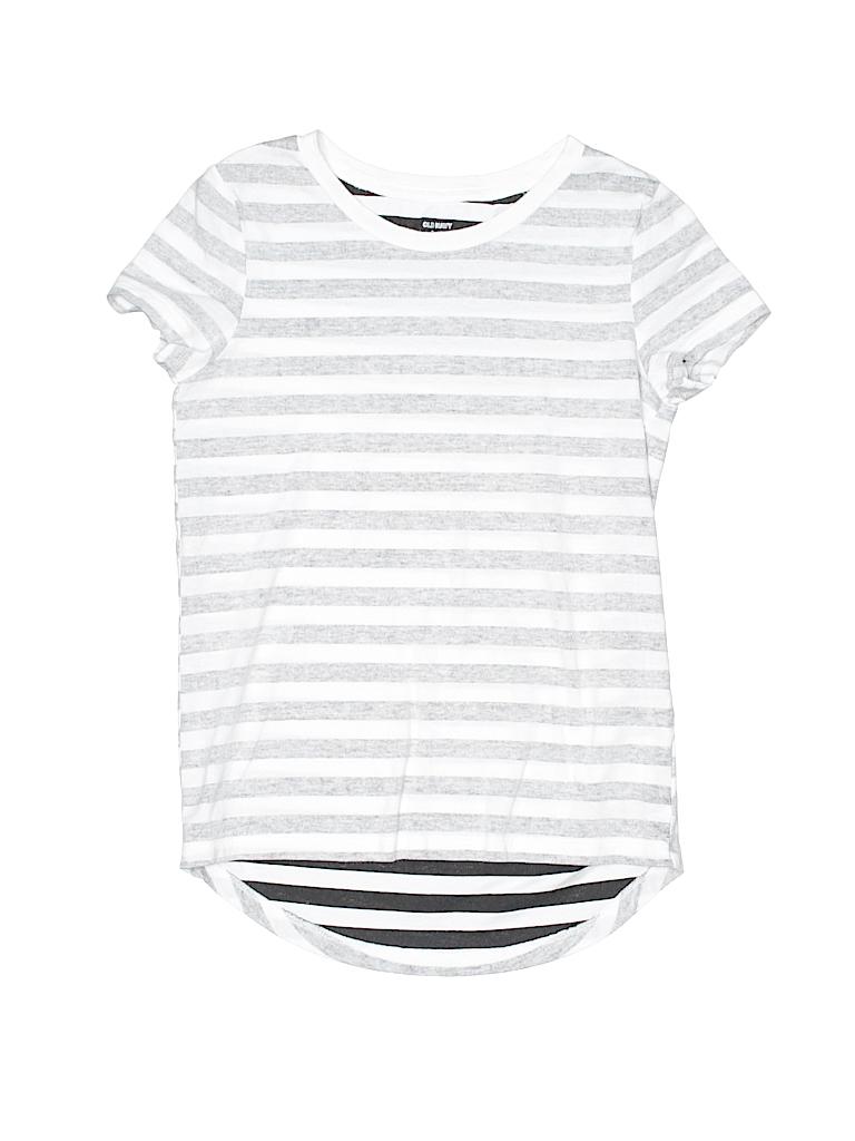 63ba04f542f3 Old Navy Stripes Gray Short Sleeve T-Shirt Size S (Kids) - 61% off ...