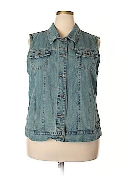 Cabela's Denim Vest Size 2X (Plus)