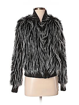 New York Yoki Collection Faux Fur Jacket Size M