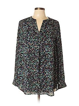 PREMISE Long Sleeve Blouse Size 0X (Plus)