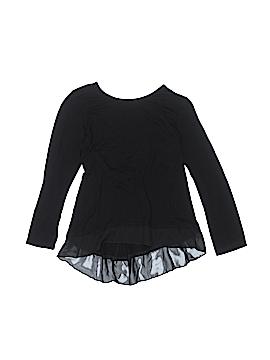 Aqua Long Sleeve Top Size L (Youth)