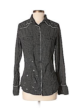 Guess Long Sleeve Button-Down Shirt Size S