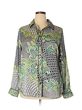 Liz Claiborne Long Sleeve Blouse Size 2X (Plus)