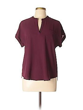 Moa Moa Short Sleeve Blouse Size M