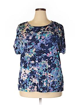Jaclyn Smith Short Sleeve Top Size 1X (Plus)