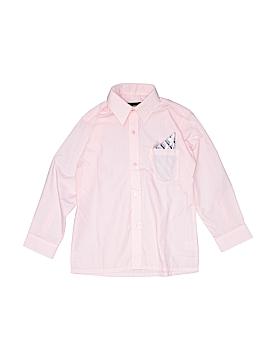 Vangogh Long Sleeve Button-Down Shirt Size 8