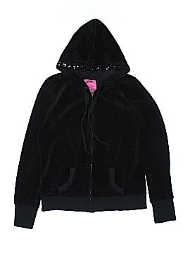 Jennifer Moore Zip Up Hoodie Size L