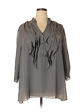 Lane Bryant 3/4 Sleeve Blouse Size 26/28W Plus (Plus)