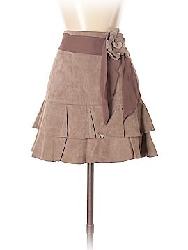Bebe Leather Skirt Size 0
