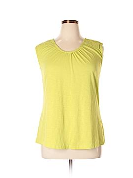 Eddie Bauer Short Sleeve Top Size XL (Petite)