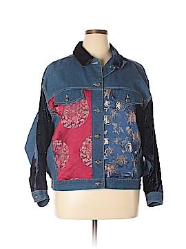 Carole Little Denim Jacket Size 16