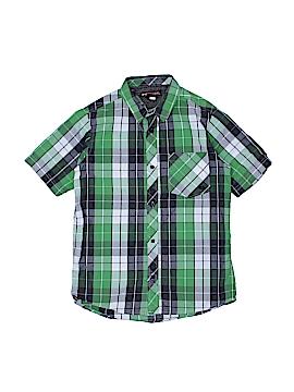 Tony Hawk Short Sleeve Button-Down Shirt Size 16