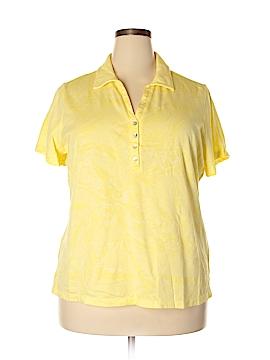 Caribbean Joe Short Sleeve Polo Size 2X (Plus)