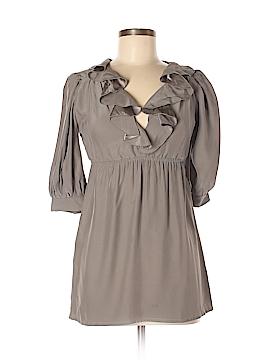 Amanda Uprichard 3/4 Sleeve Silk Top Size S
