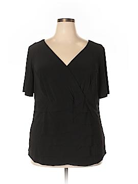 Danny & Nicole Short Sleeve Top Size 20W (Plus)