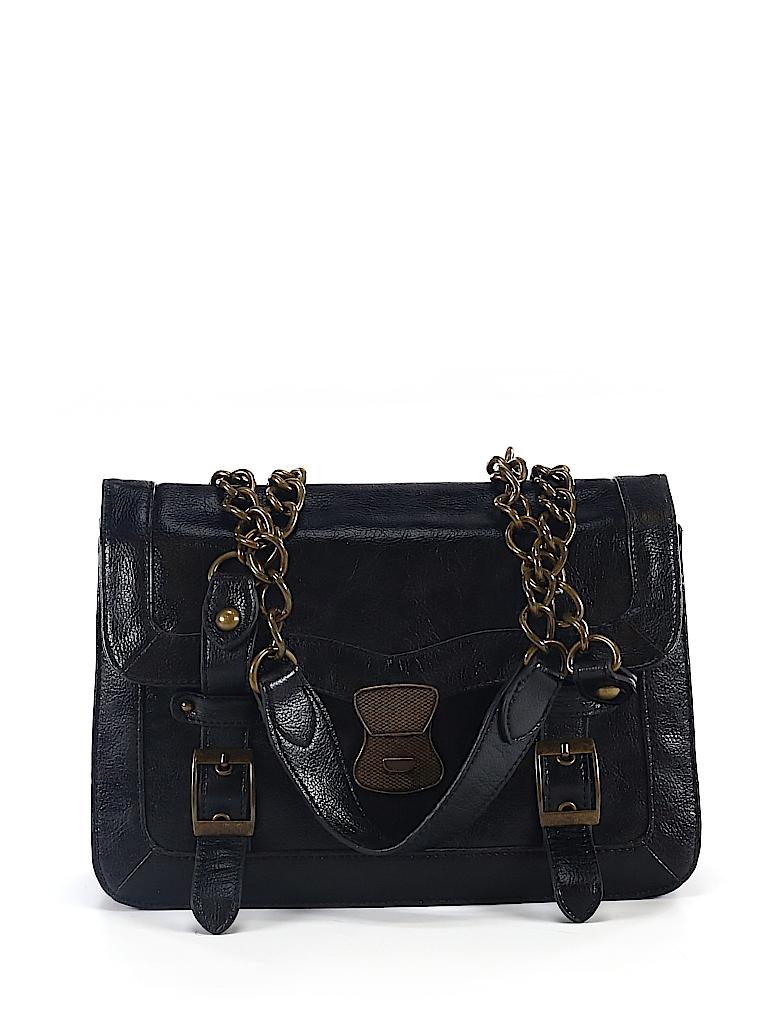 b35d912b99 Deena & Ozzy Solid Black Shoulder Bag One Size - 60% off | thredUP