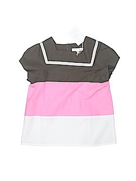 Marie Chantal Short Sleeve Blouse Size 5