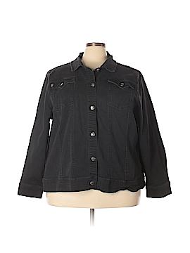 Liz & Me Denim Jacket Size 3X (Plus)