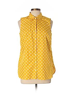Lands' End Sleeveless Button-Down Shirt Size 10