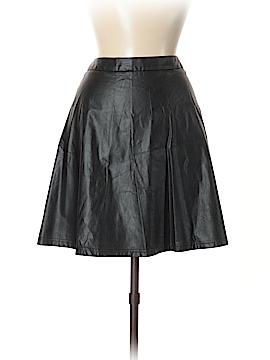 Ann Taylor LOFT Faux Leather Skirt Size 6