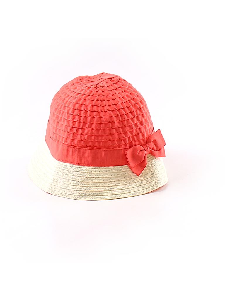 Gymboree 100% Polyester Color Block Coral Sun Hat Size 2T - 3T - 53 ... 31158e2f3c2