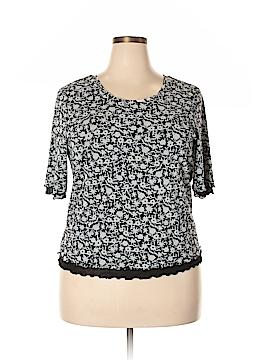 Sigrid Olsen Short Sleeve Top Size 1X (Plus)