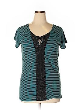 Allison Brittney Short Sleeve Top Size XL