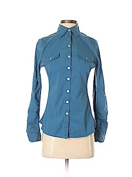 Converse 3/4 Sleeve Button-Down Shirt Size XS