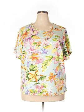 Jaclyn Smith Short Sleeve T-Shirt Size 1X (Plus)