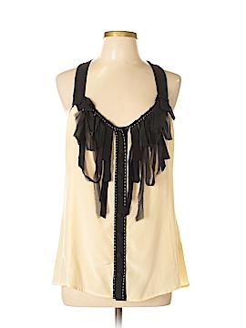 Nanette Lepore Sleeveless Silk Top Size 10