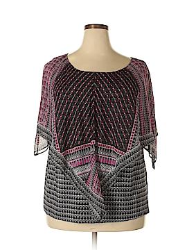 Alyx Short Sleeve Blouse Size 1X (Plus)