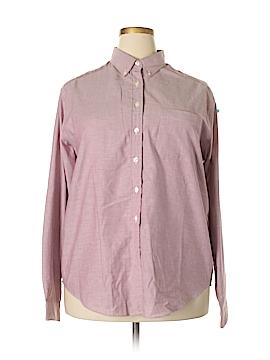 Lands' End Long Sleeve Button-Down Shirt Size 20 (Plus)