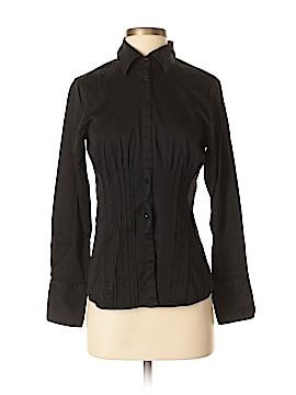 Antonio Melani Long Sleeve Button-Down Shirt Size S
