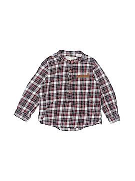 Zara Baby Long Sleeve Button-Down Shirt Size 18-24 mo