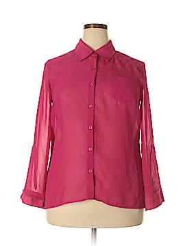I.N. Studio Long Sleeve Blouse Size XL