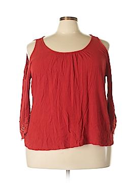 Lovesick 3/4 Sleeve Blouse Size 3X (Plus)