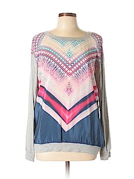 Single Los Angeles Silk Pullover Sweater Size L