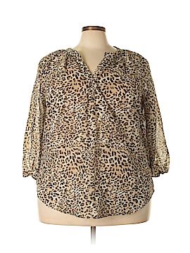 Millenium 3/4 Sleeve Blouse Size 3X (Plus)