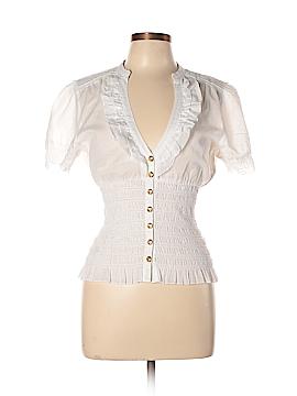 2b bebe Short Sleeve Blouse Size L