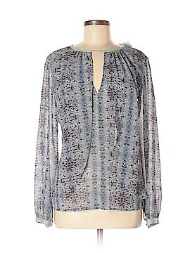 Single Los Angeles Long Sleeve Silk Top Size XS
