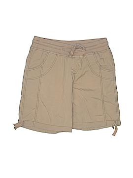 Decree Women Khaki Shorts Size 0