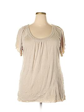 Stephanie Rogers Short Sleeve Top Size XL
