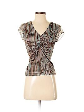 La Belle Short Sleeve Blouse Size M