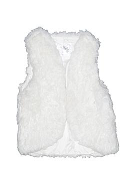 Justice Faux Fur Vest Size 12 - 14