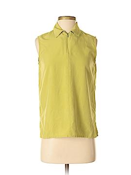 City Silk Sleeveless Silk Top Size S