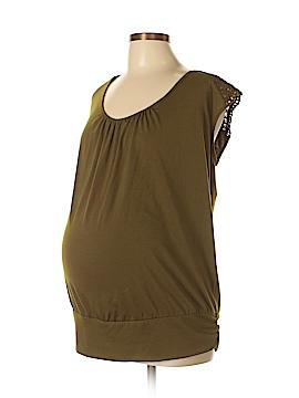 Liz Lange Maternity Short Sleeve Top Size XL (Maternity)