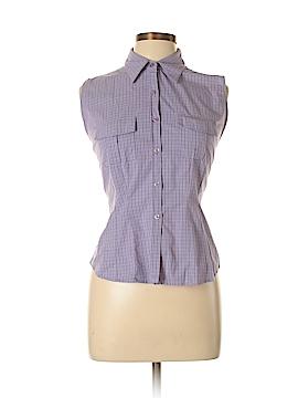 So...GSJC Sleeveless Button-Down Shirt Size L