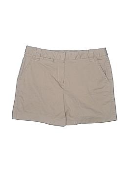 Larry Levine Khaki Shorts Size 12